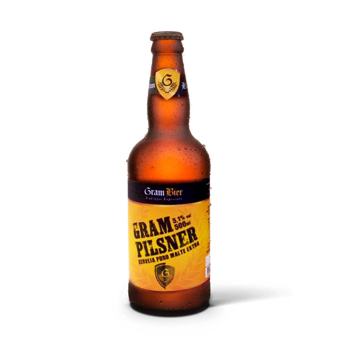 Gram Bier Pilsen Gram Pilsener 500ml