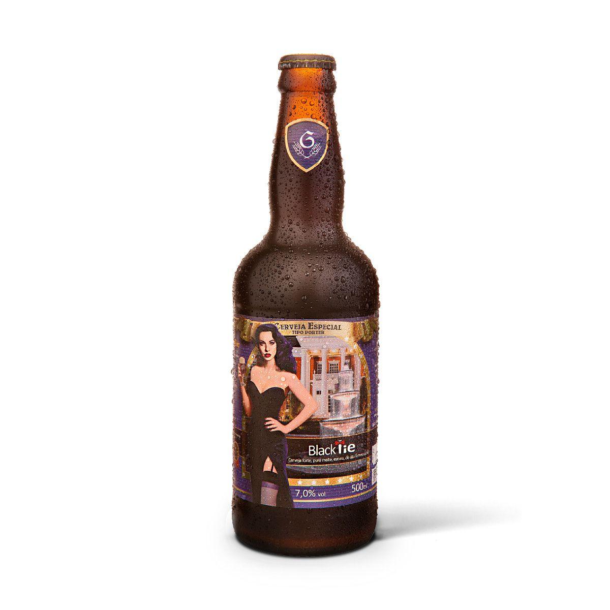 Gram Bier Porter Black Tie 500ml