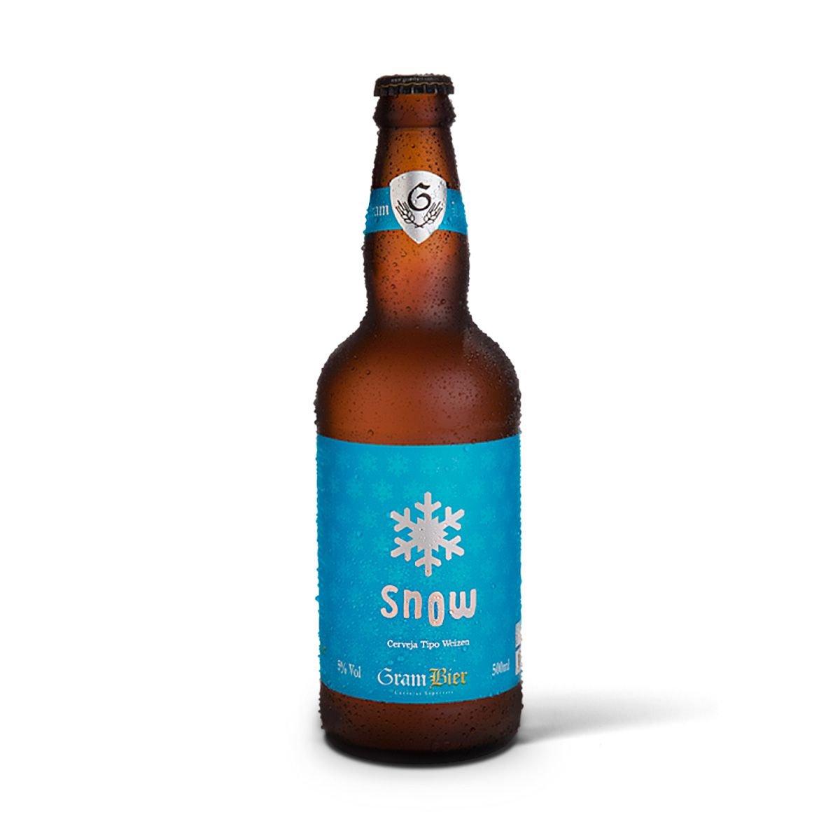 Gram Bier Weizen Snow 500ml