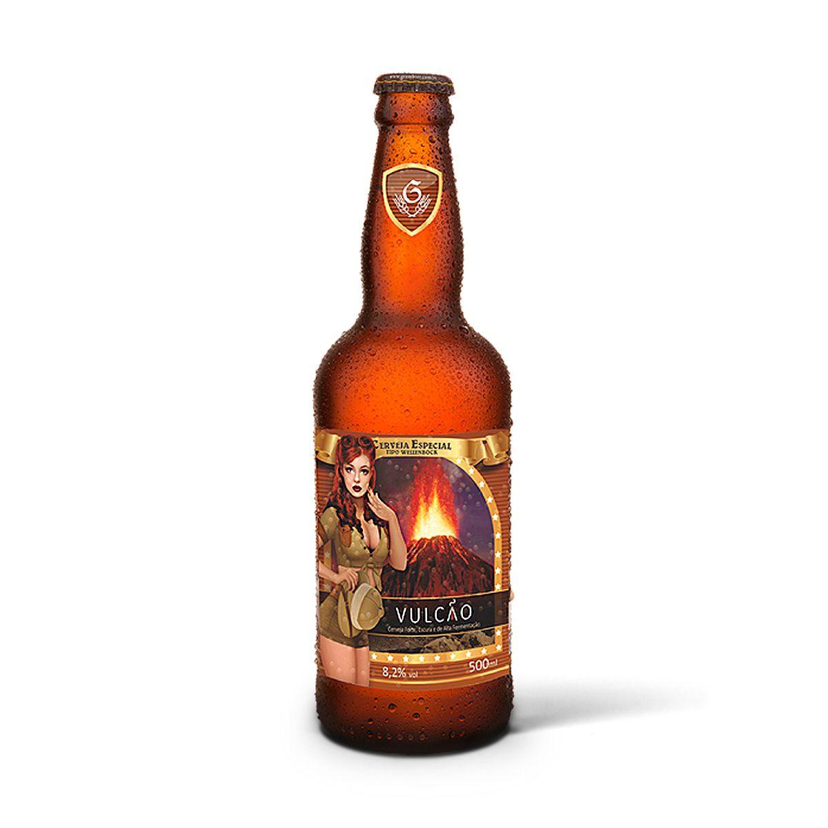 Gram Bier WeizenBock Vulcão 500ml