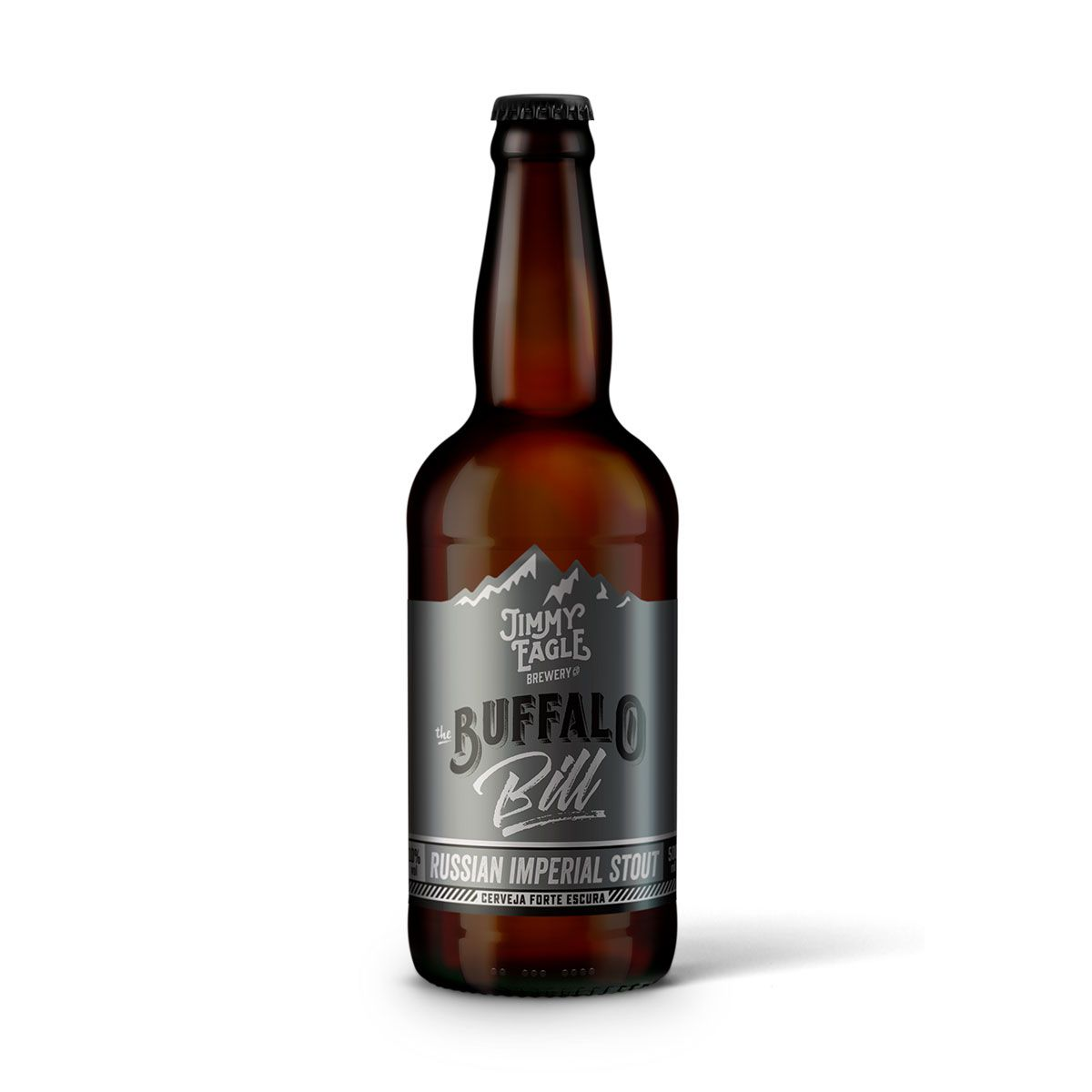 Jimmy Eagle Russian Imperial Stout Buffalo Bill 500ml  - RS BEER - Cervejas Gaúchas