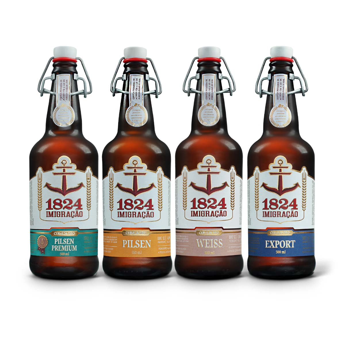 Kit degustação Imigração 4 cervejas