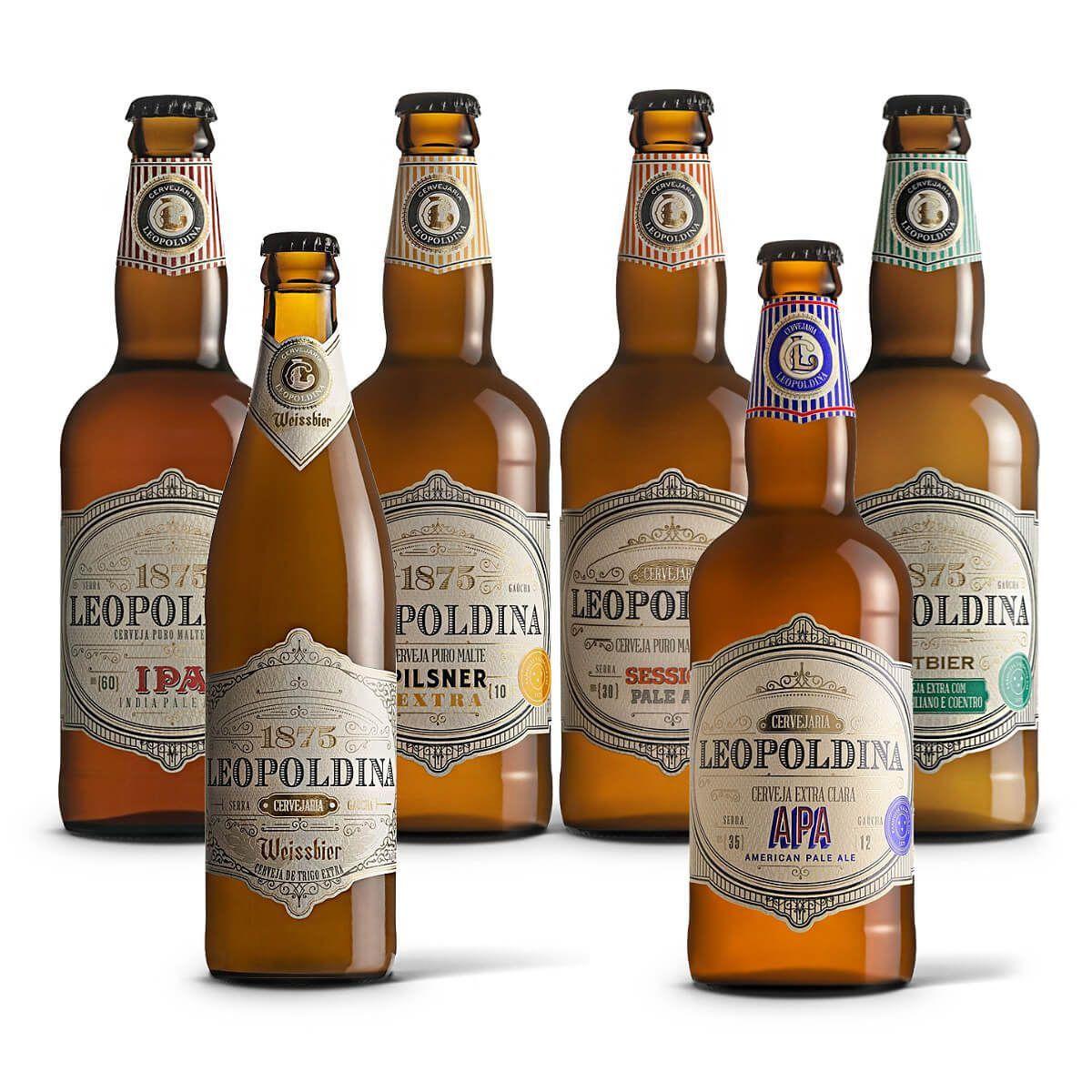Kit degustação Leopoldina 6 cervejas
