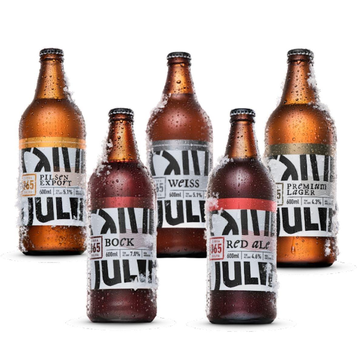 Kit degustação Salva 05 cervejas  - RS BEER - Cervejas Gaúchas