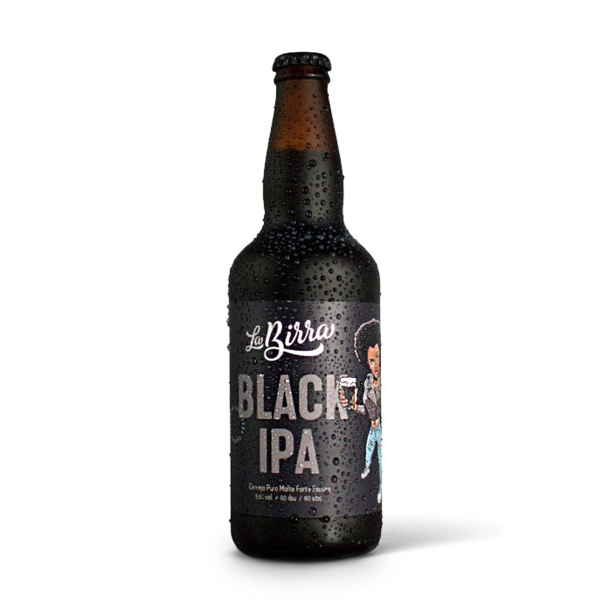 La Birra Black IPA 500ml