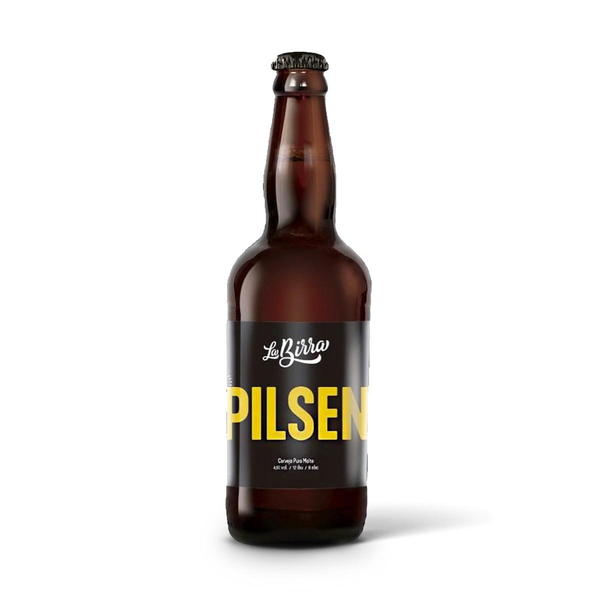 La Birra Pilsen 500ml