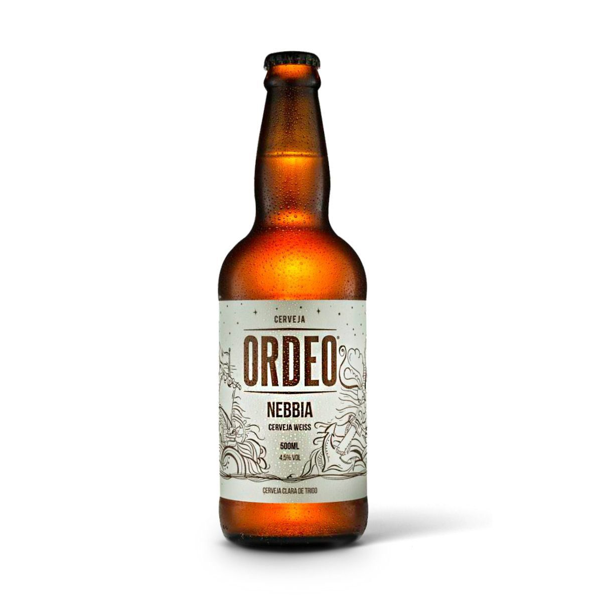 Ordeo Weiss Nebbia 500ml  - RS BEER - Cervejas Gaúchas