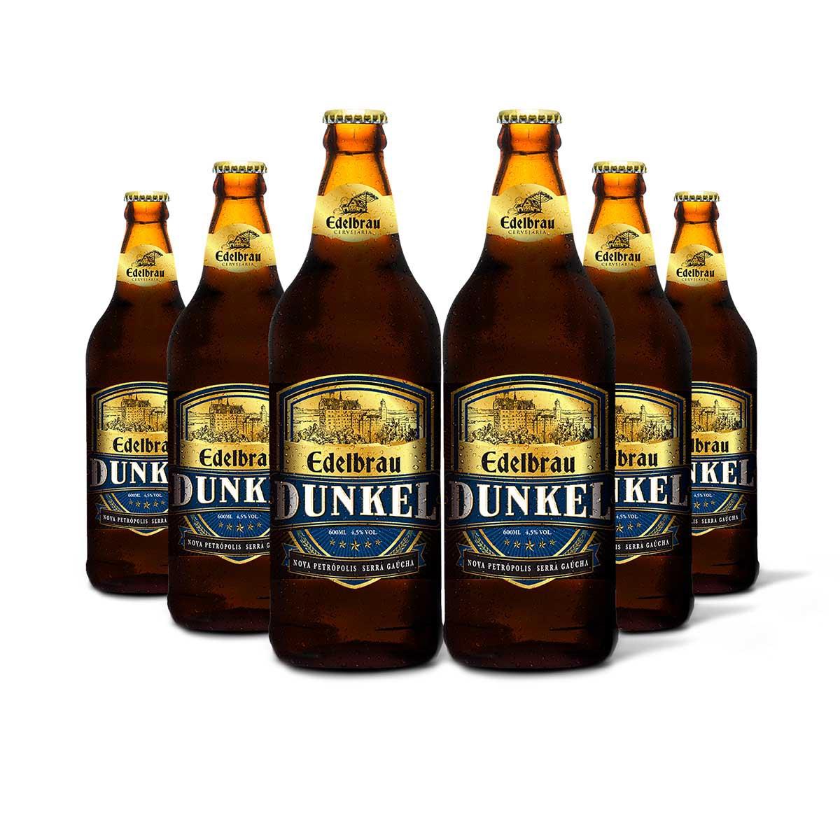 Pack Edelbrau Dunkel 6 cervejas 600ml