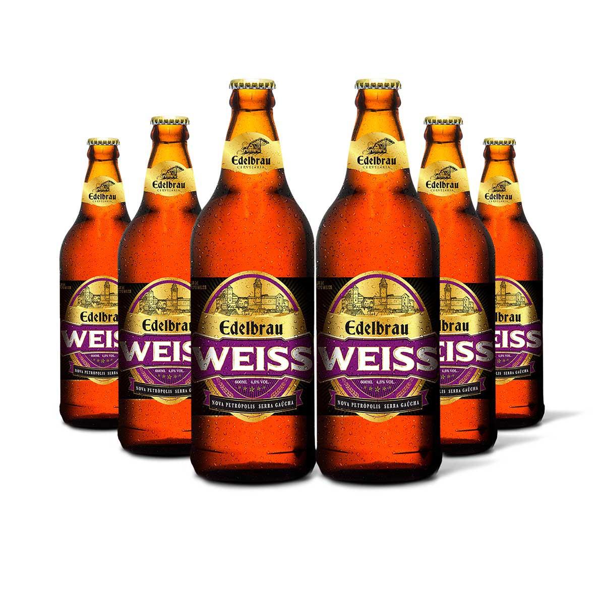 Pack Edelbrau Weiss 6 cervejas 600ml