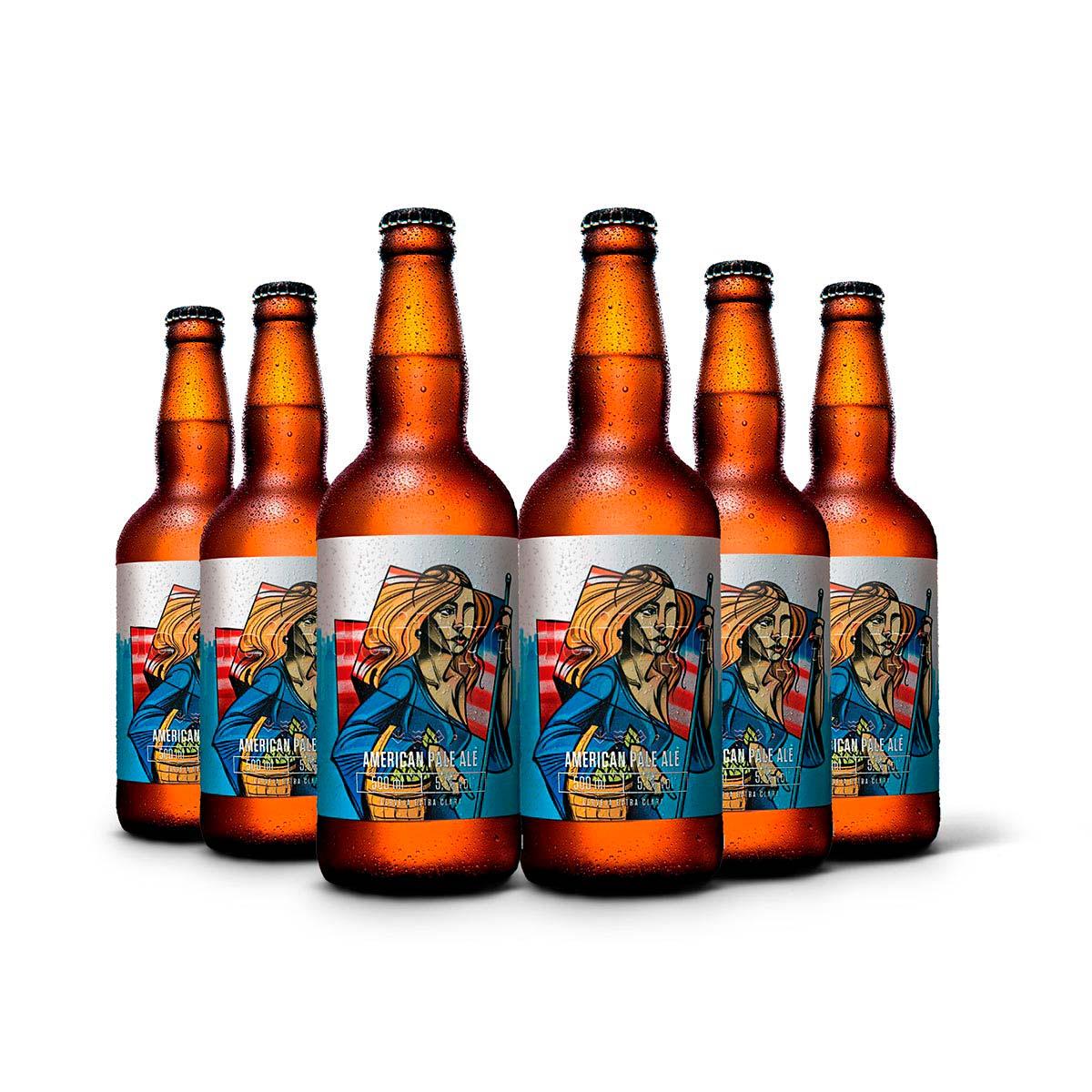 Pack Heilige American Pale Ale APA 6 cervejas 500ml