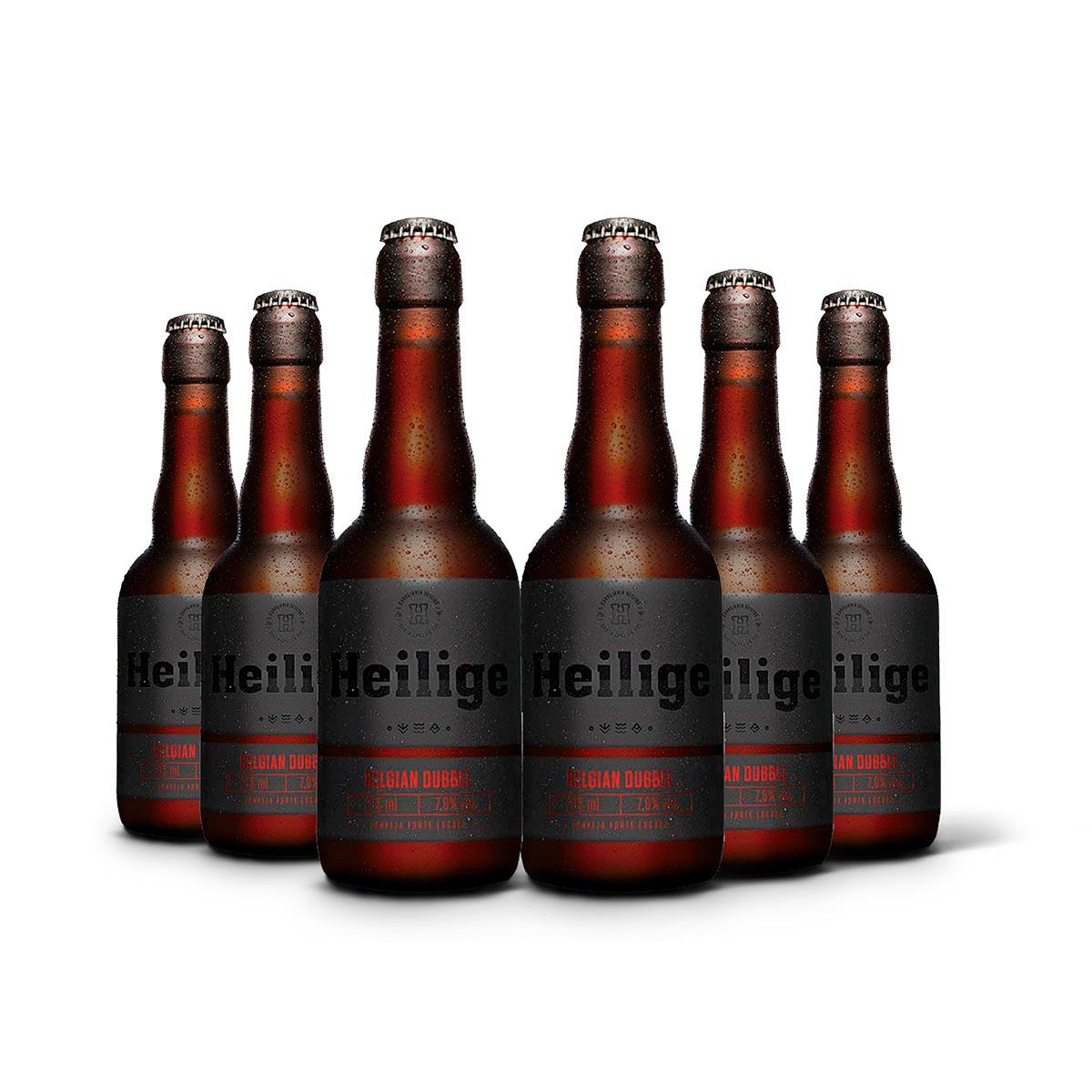 Pack Heilige Belgian Dubbel 6 cervejas 375ml