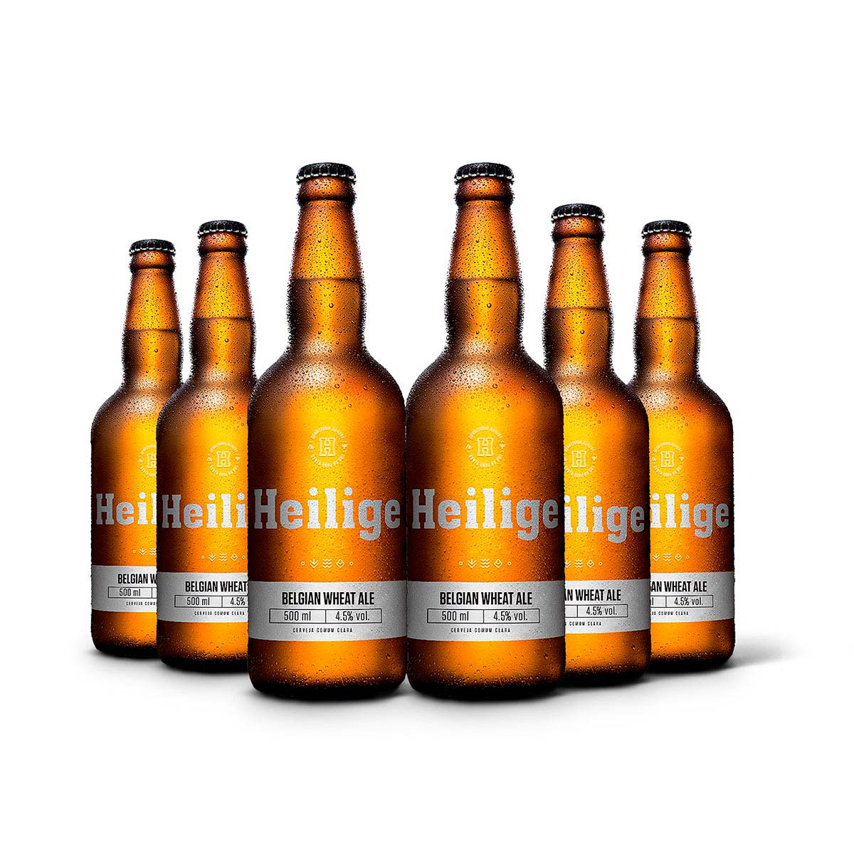 Pack Heilige Belgian Wheat Ale 6 cervejas 500ml