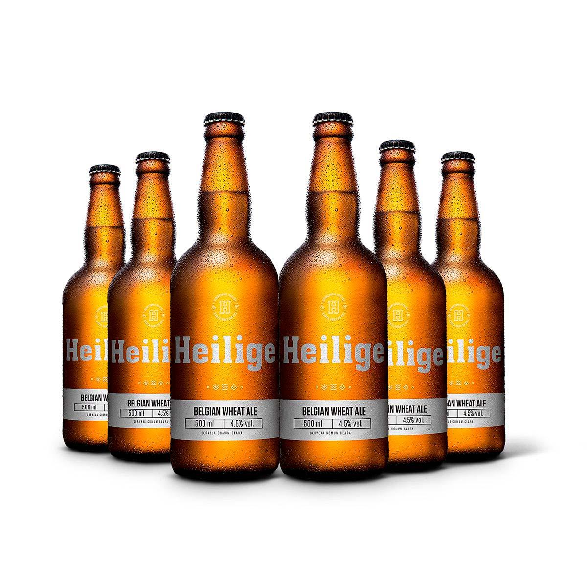 Pack Heilige Belgian Wheat Ale 6 cervejas 500ml