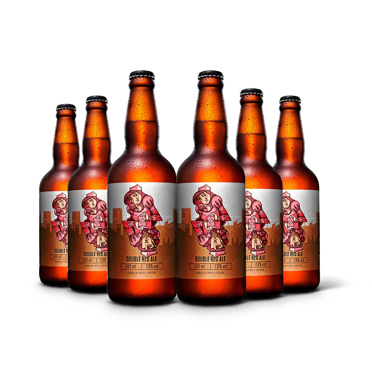 Pack Heilige Double Red Ale 6 cervejas 500ml