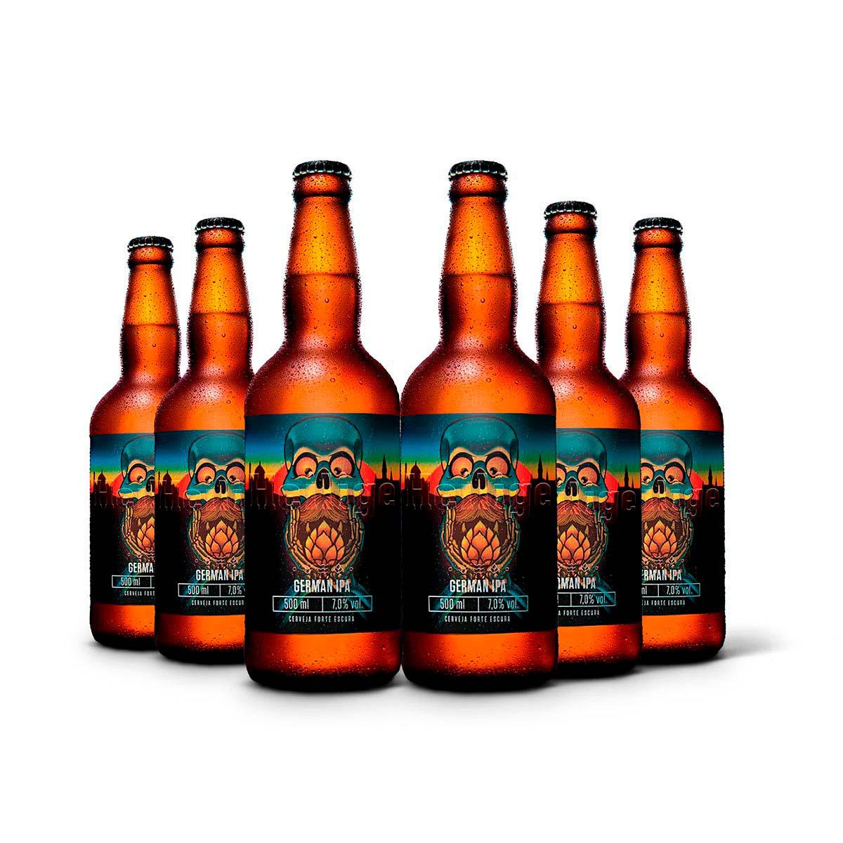 Pack Heilige German IPA 6 cervejas 500ml