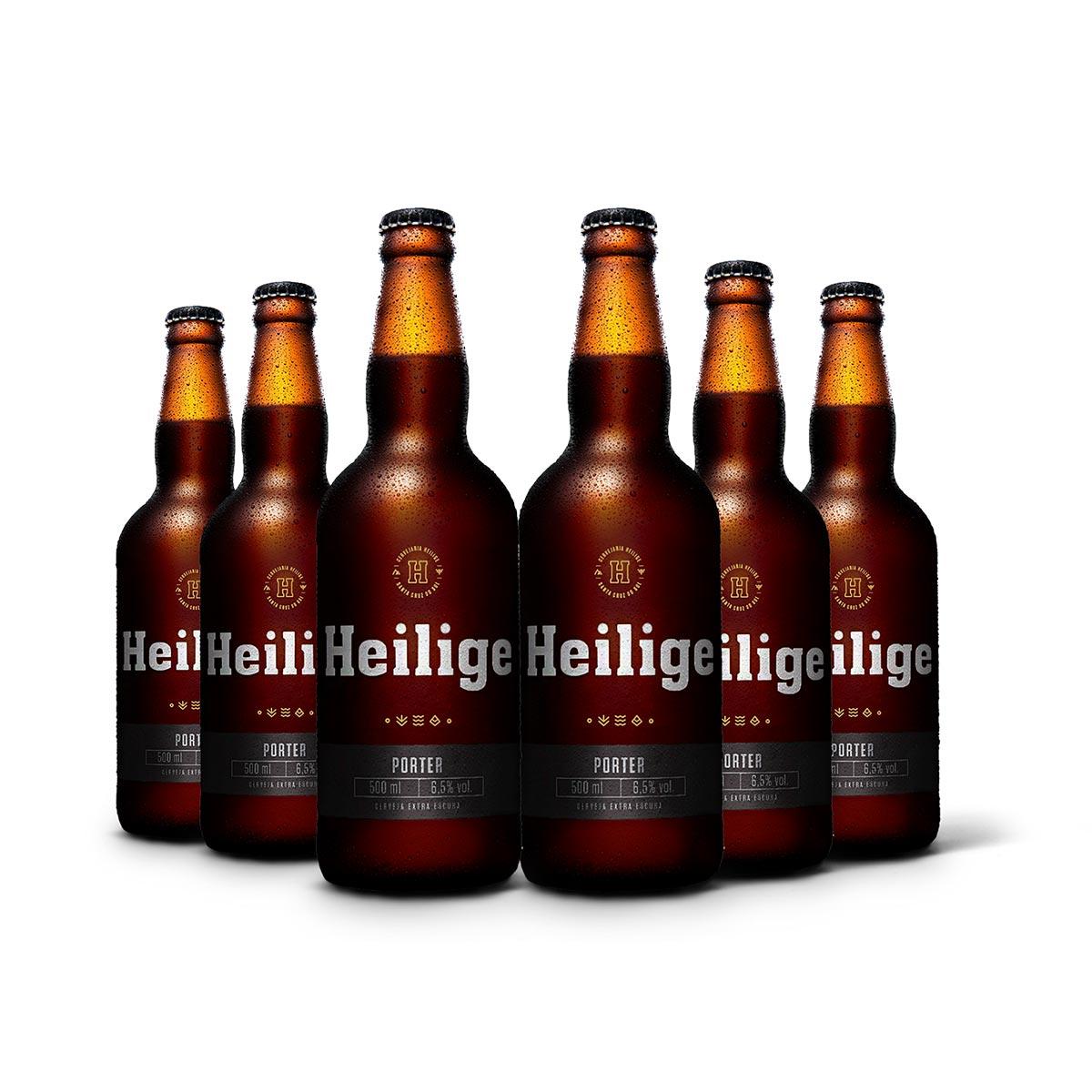 Pack Heilige Porter 6 cervejas 500ml