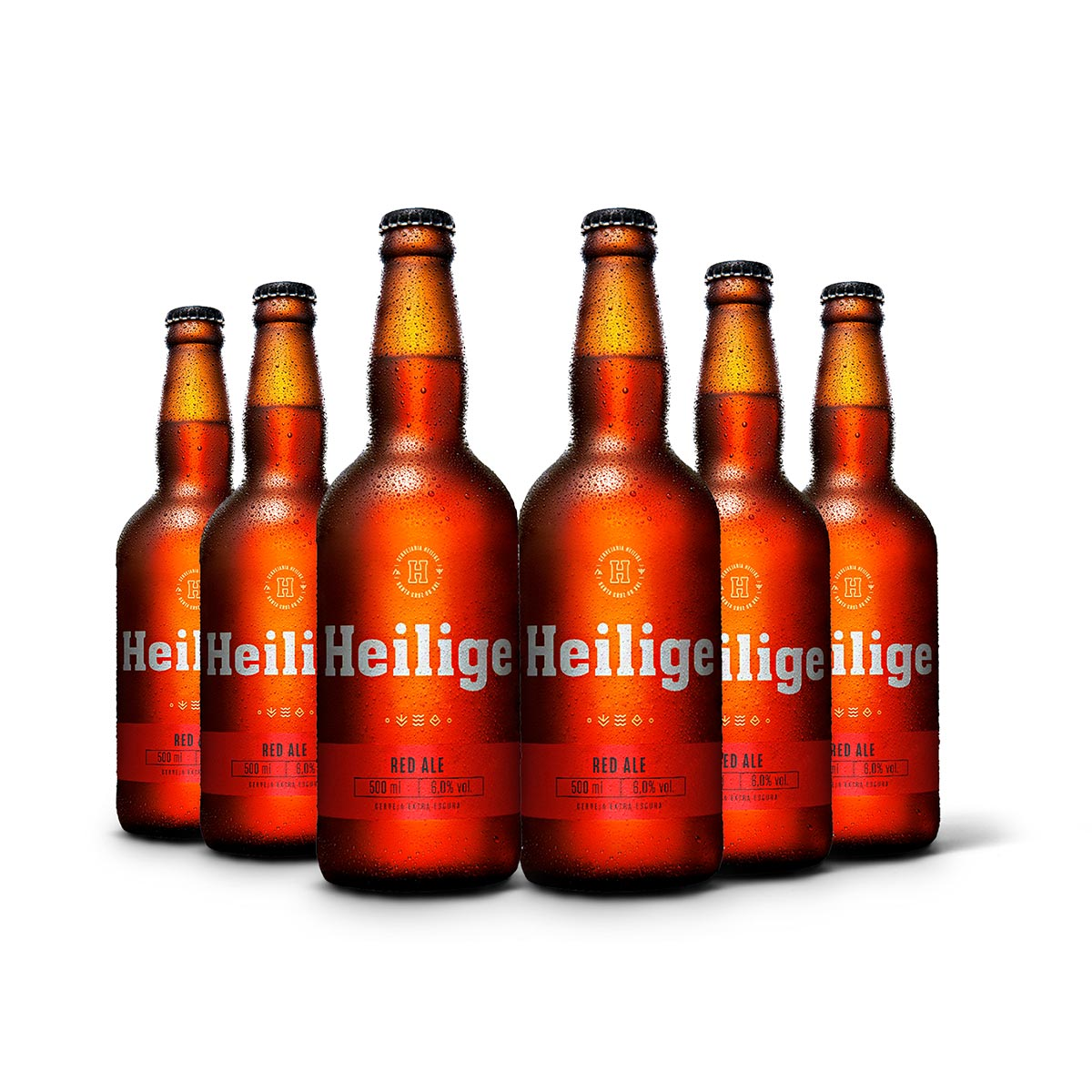 Pack Heilige Red Ale 6 cervejas 500ml