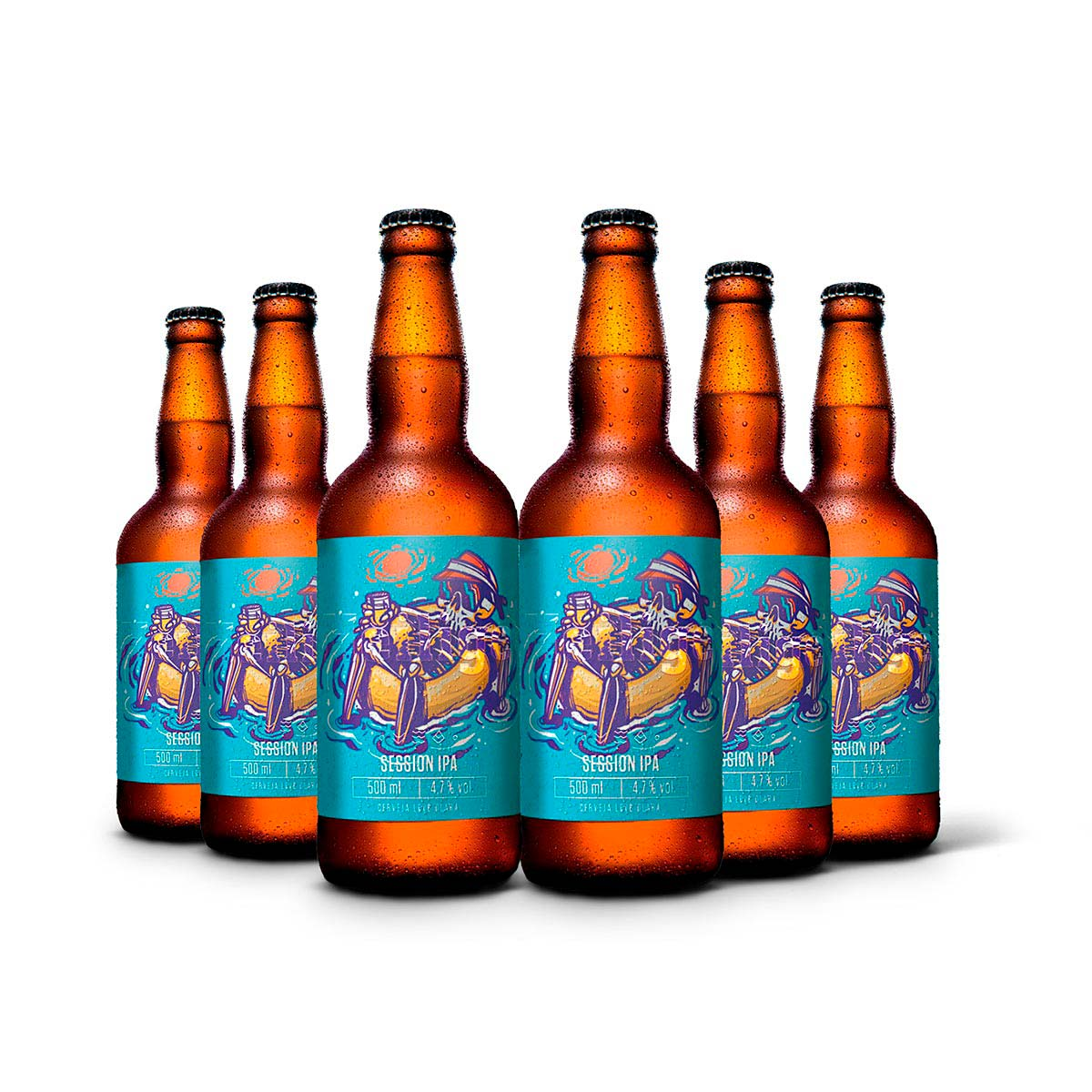 Pack Heilige Session IPA 6 cervejas 500ml