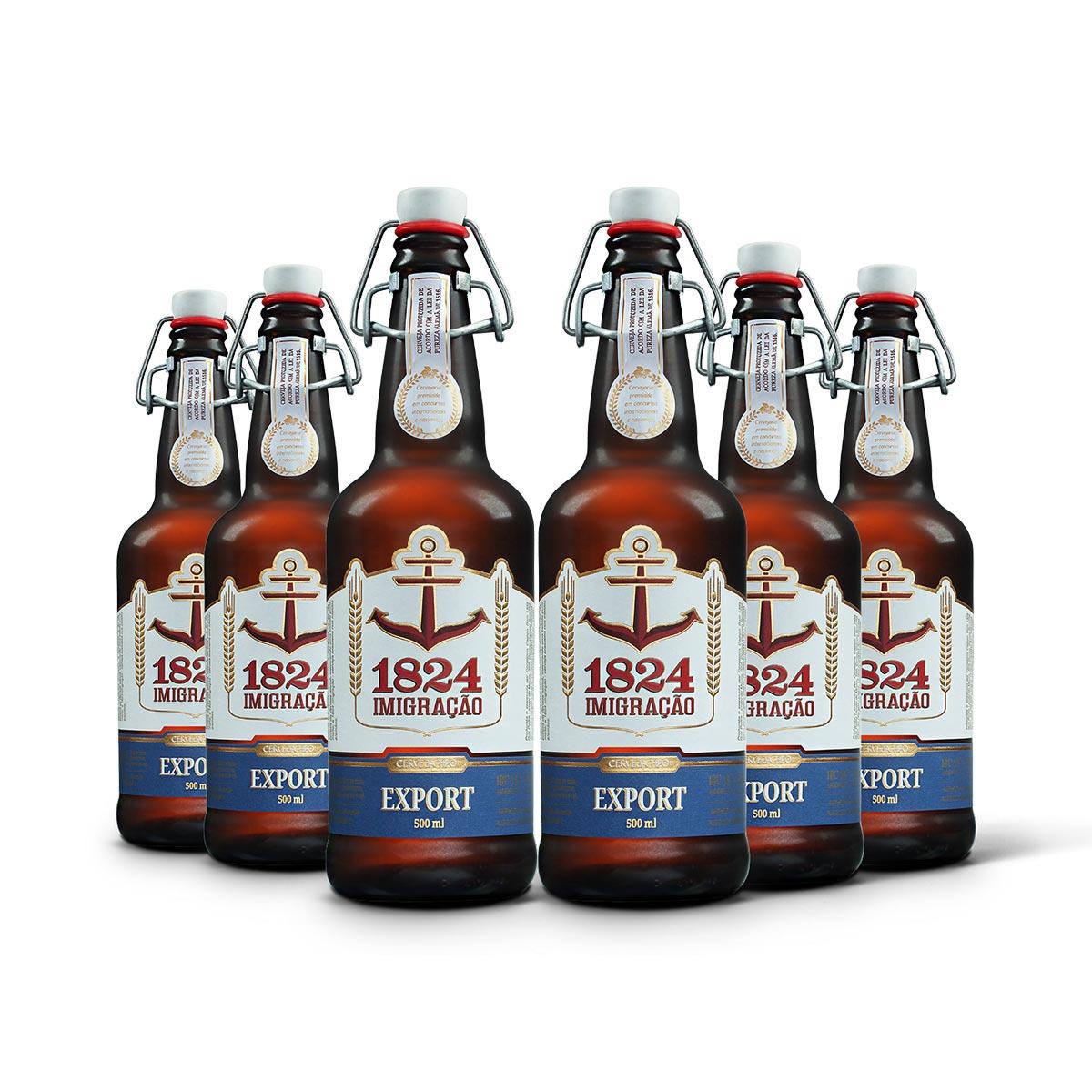 Pack Imigração Export 6 cervejas 500ml