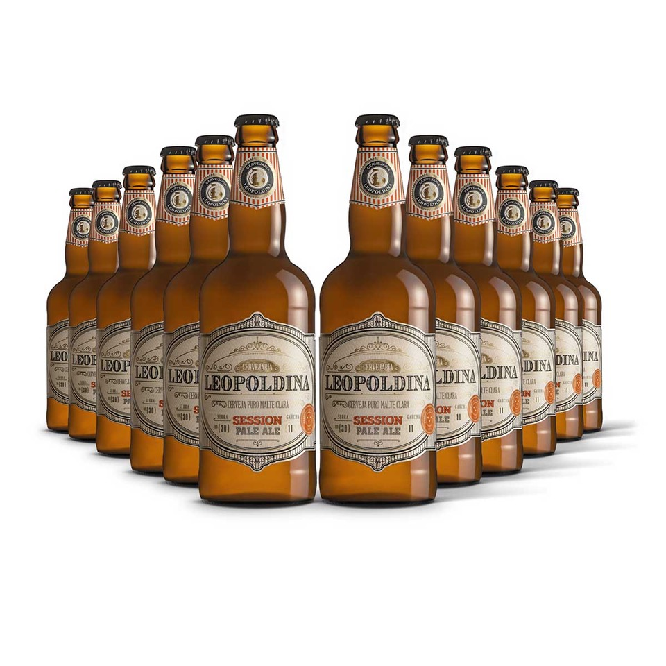 Pack Leopoldina Session Pale Ale 12 cervejas 500ml