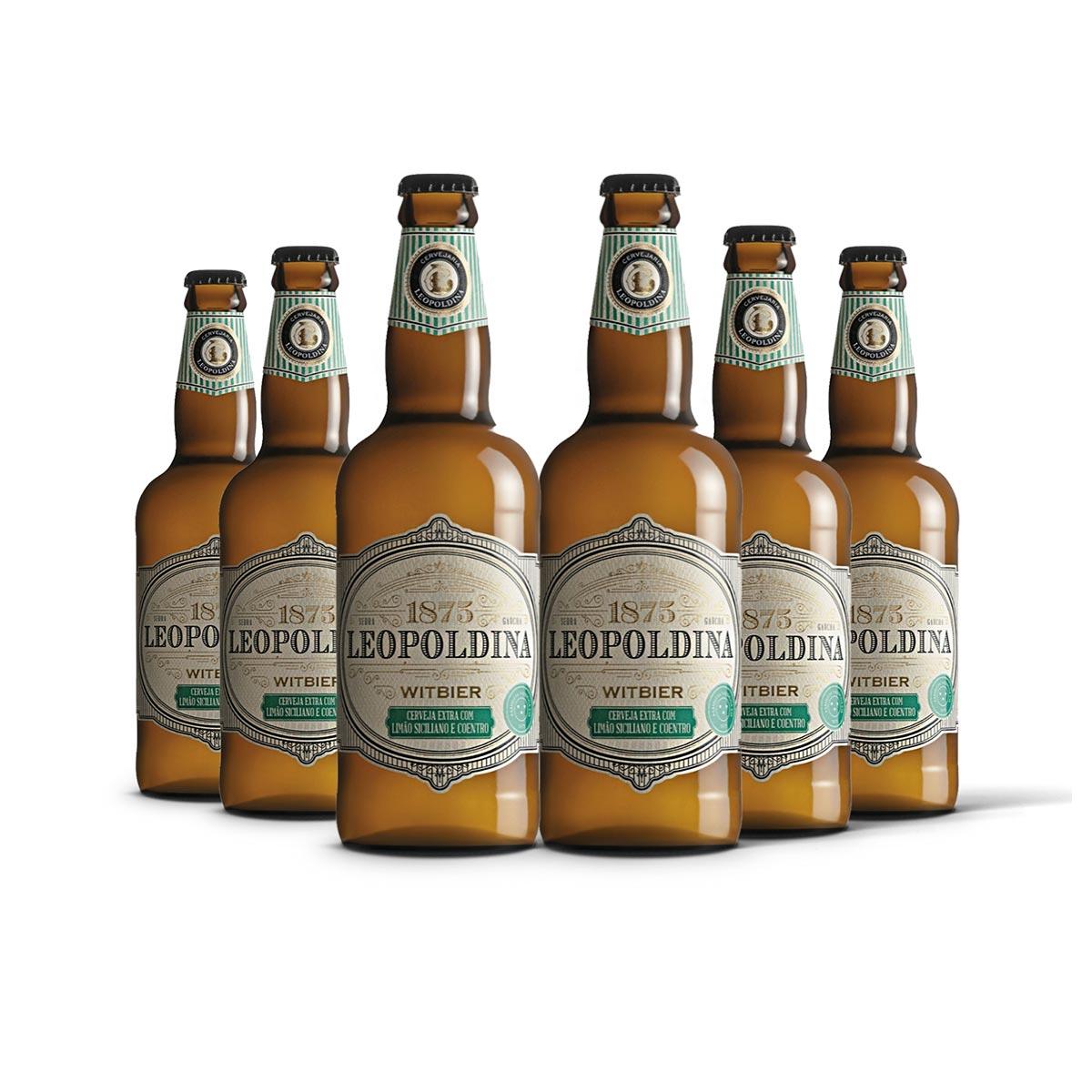 Pack Leopoldina Witbier 6 cervejas 500ml