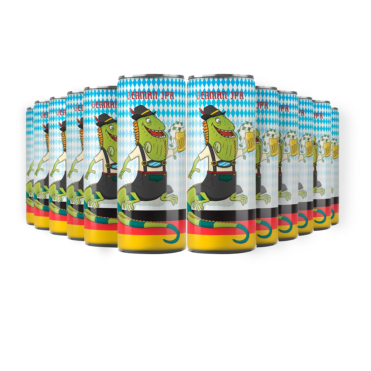 Pack Tupiniquim Ligera German IPA 12 cervejas 350ml