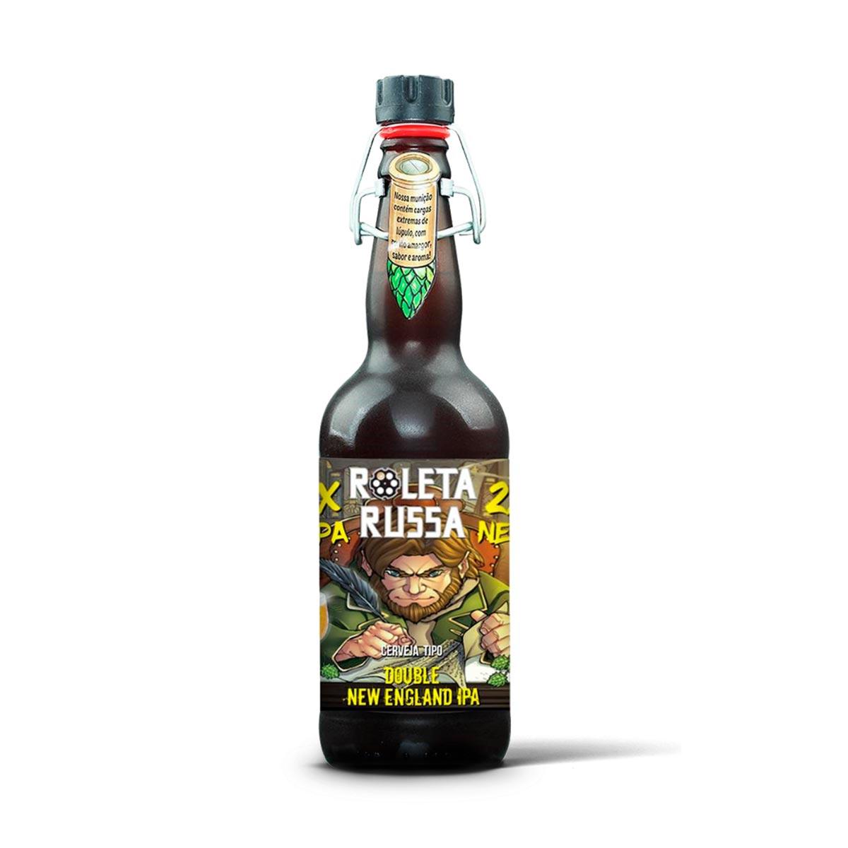 Roleta Russa Double New England IPA 500ml  - RS BEER - Cervejas Gaúchas