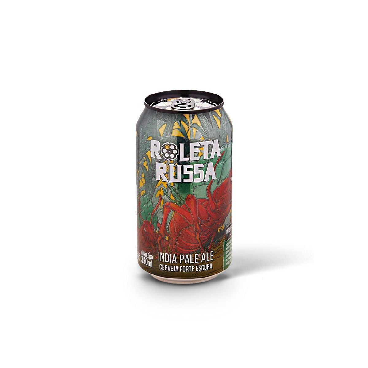 Roleta Russa India Pale Ale IPA 350ml  - RS BEER - Cervejas Gaúchas
