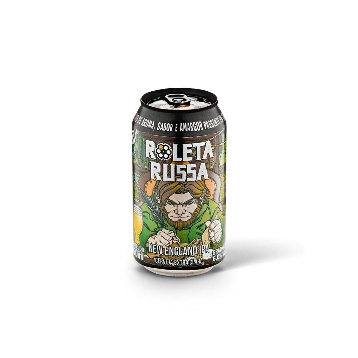 Roleta Russa New England IPA 350ml  - RS BEER - Cervejas Gaúchas