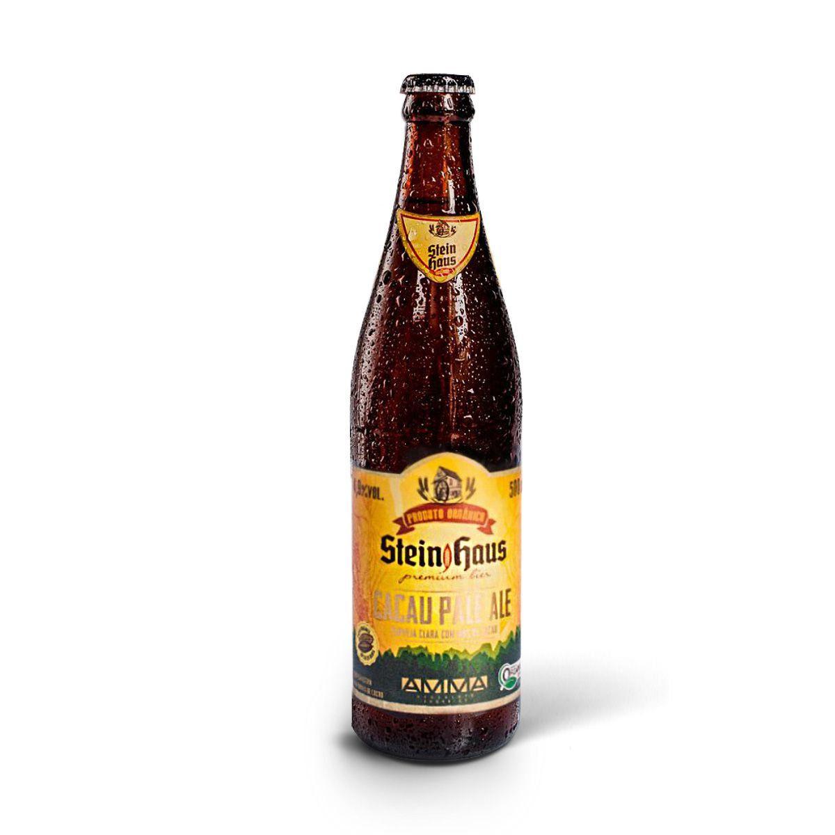 SteinHaus Orgânica Cacau Pale Ale 500ml