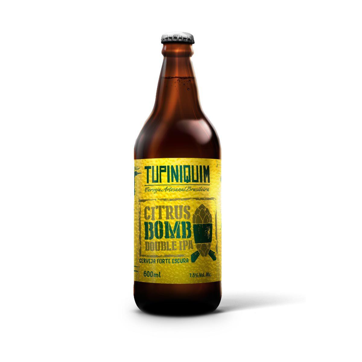 Tupiniquim Citrus Bomb Double IPA 600ml  - RS BEER - Cervejas Gaúchas