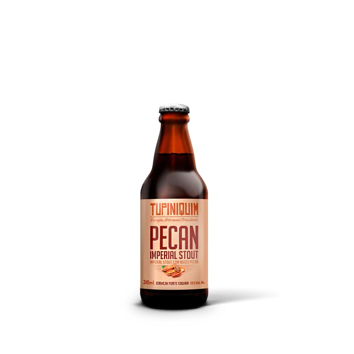 Tupiniquim Pecan Imperial Stout 310ml  - RS BEER - Cervejas Gaúchas