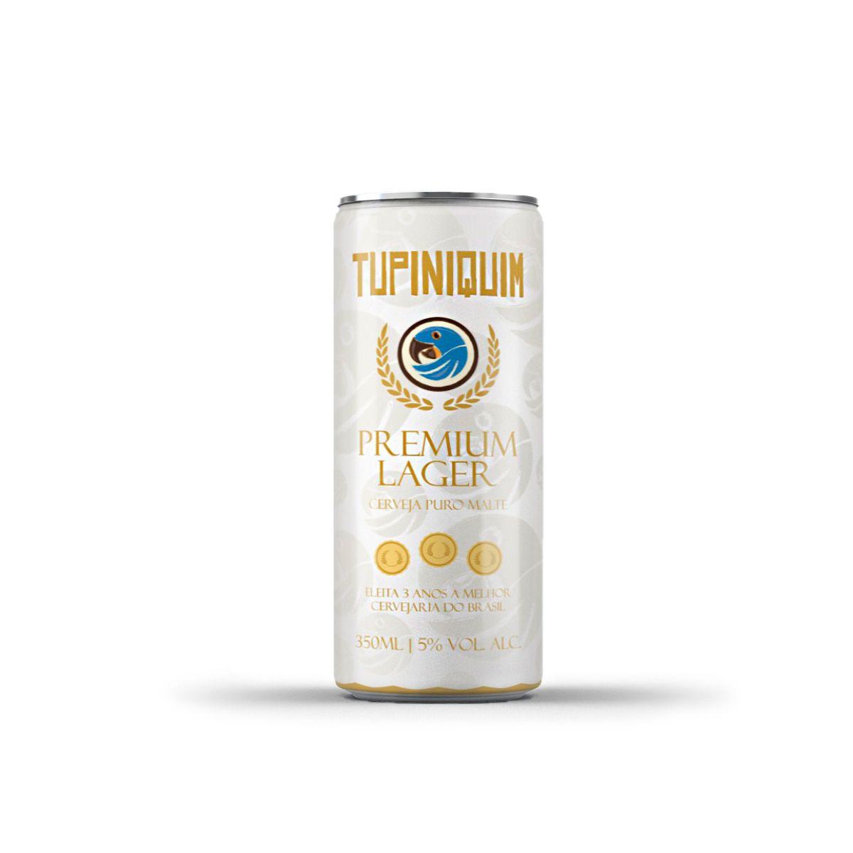 Tupiniquim Premium Lager 350ml lata
