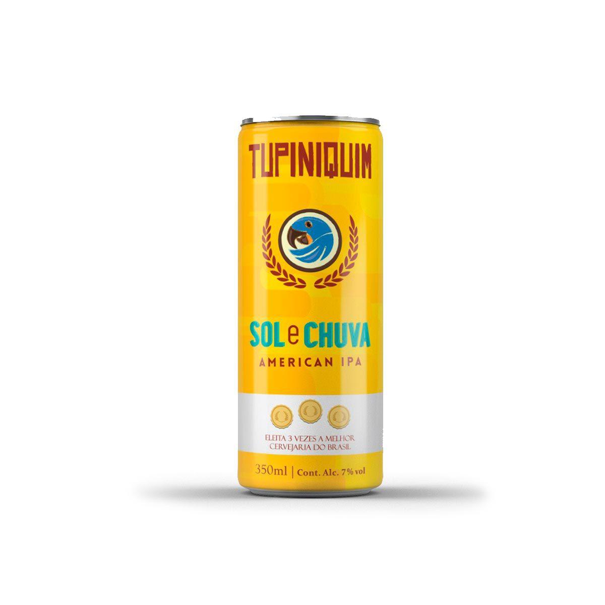 Tupiniquim Sol e Chuva American IPA 350ml lata