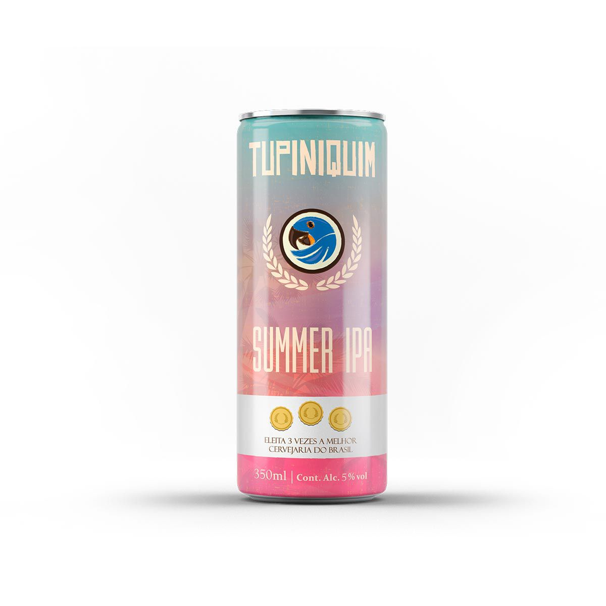 Tupiniquim Summer IPA 350ml lata  - RS BEER - Cervejas Gaúchas