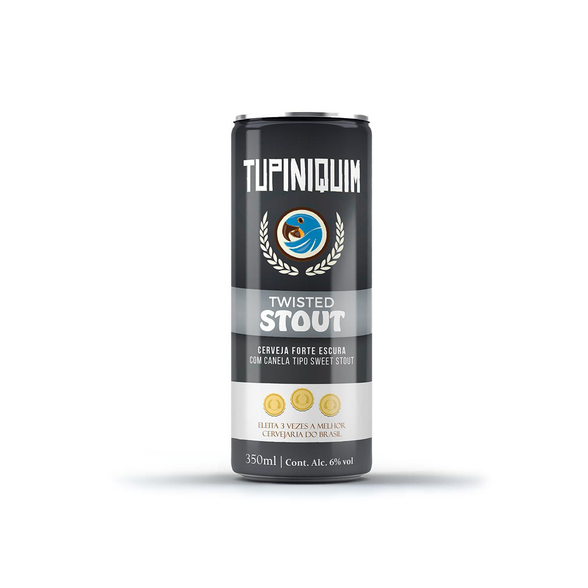 Tupiniquim Twisted Stout 350ml lata