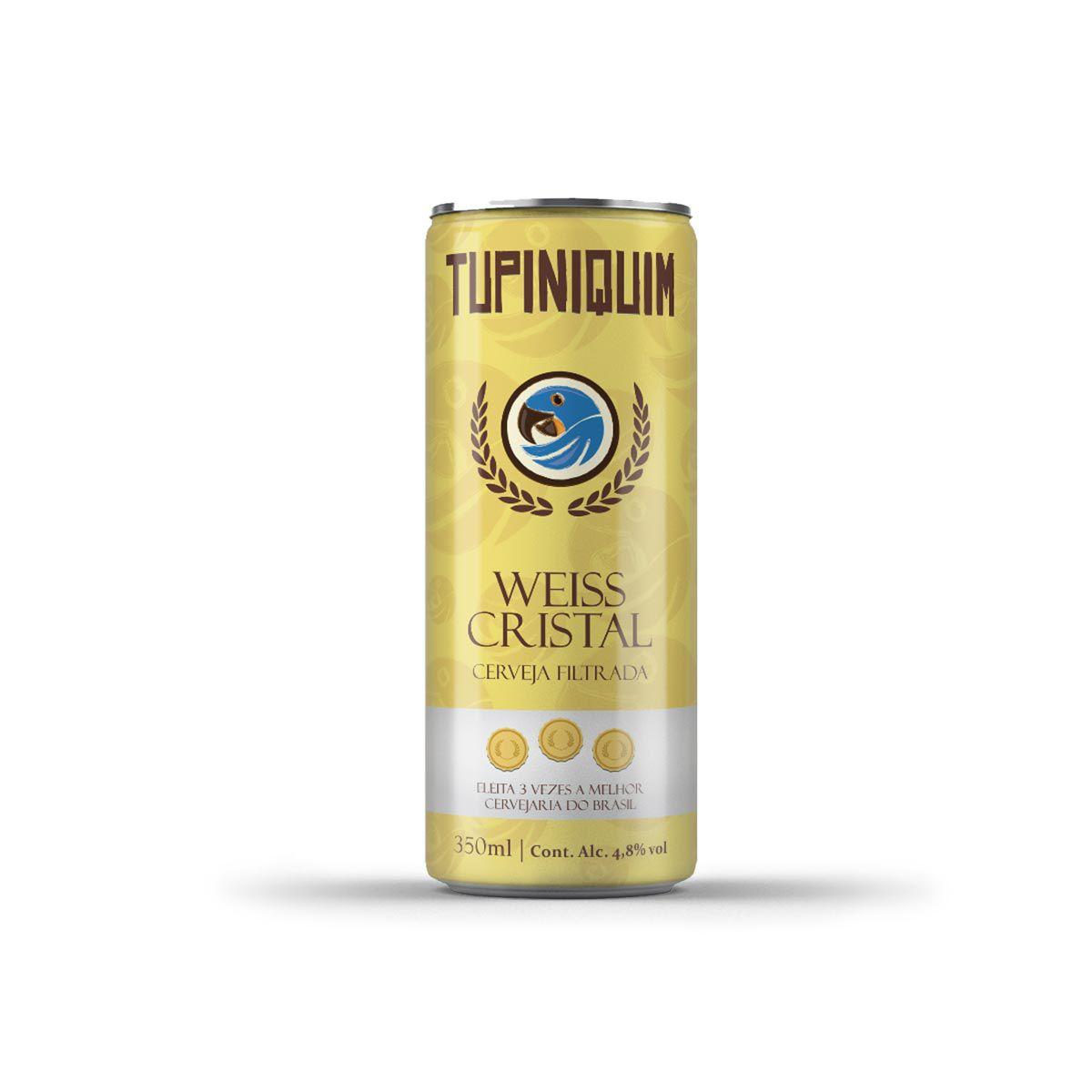 Tupiniquim Weiss Cristal 350ml lata