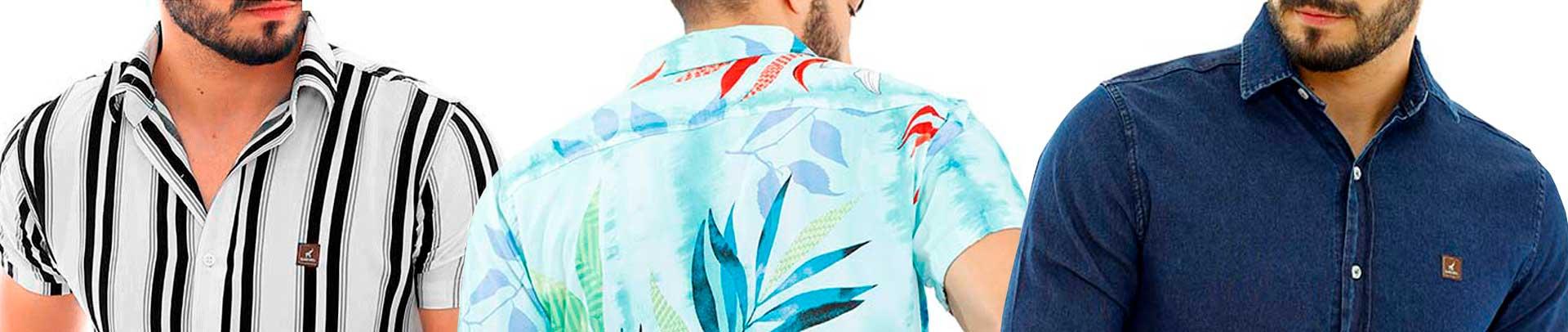 Kit Camisa Social Masculina