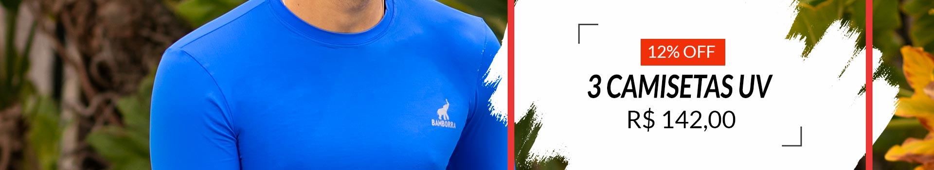 Camisa UV Masculina