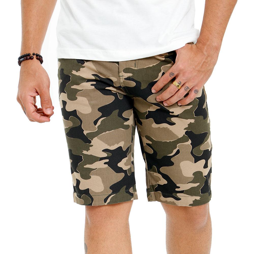 Bermuda Masculina Sarja Estampada Bamborra ? Várias Estampas