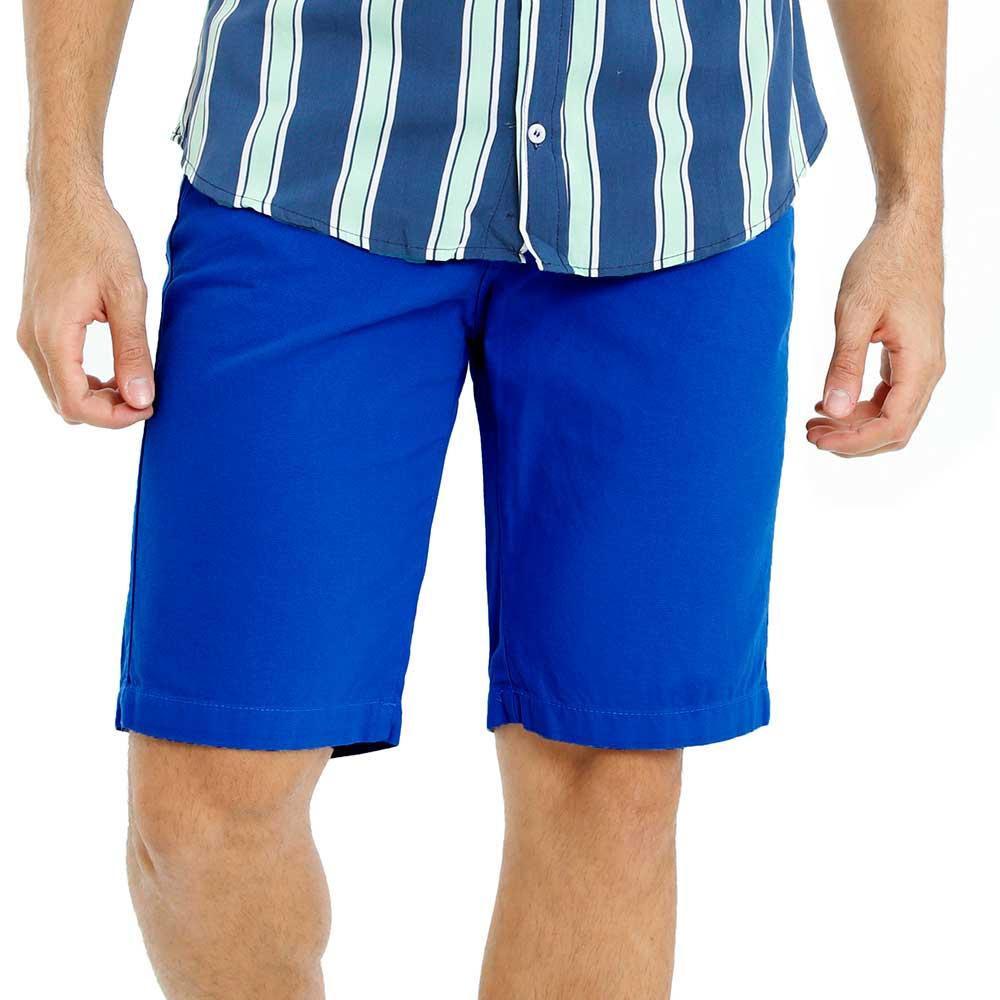 Bermuda Sarja Masculina Bamborra Tradicional Azul