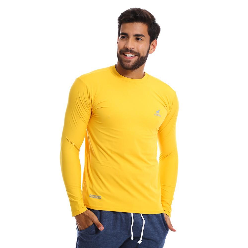 Camisa UV Masculina Com Proteção Solar Fator 50