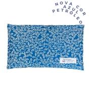 Almofada Térmica de Sementes e Ervas - Essencial Azul Petróleo