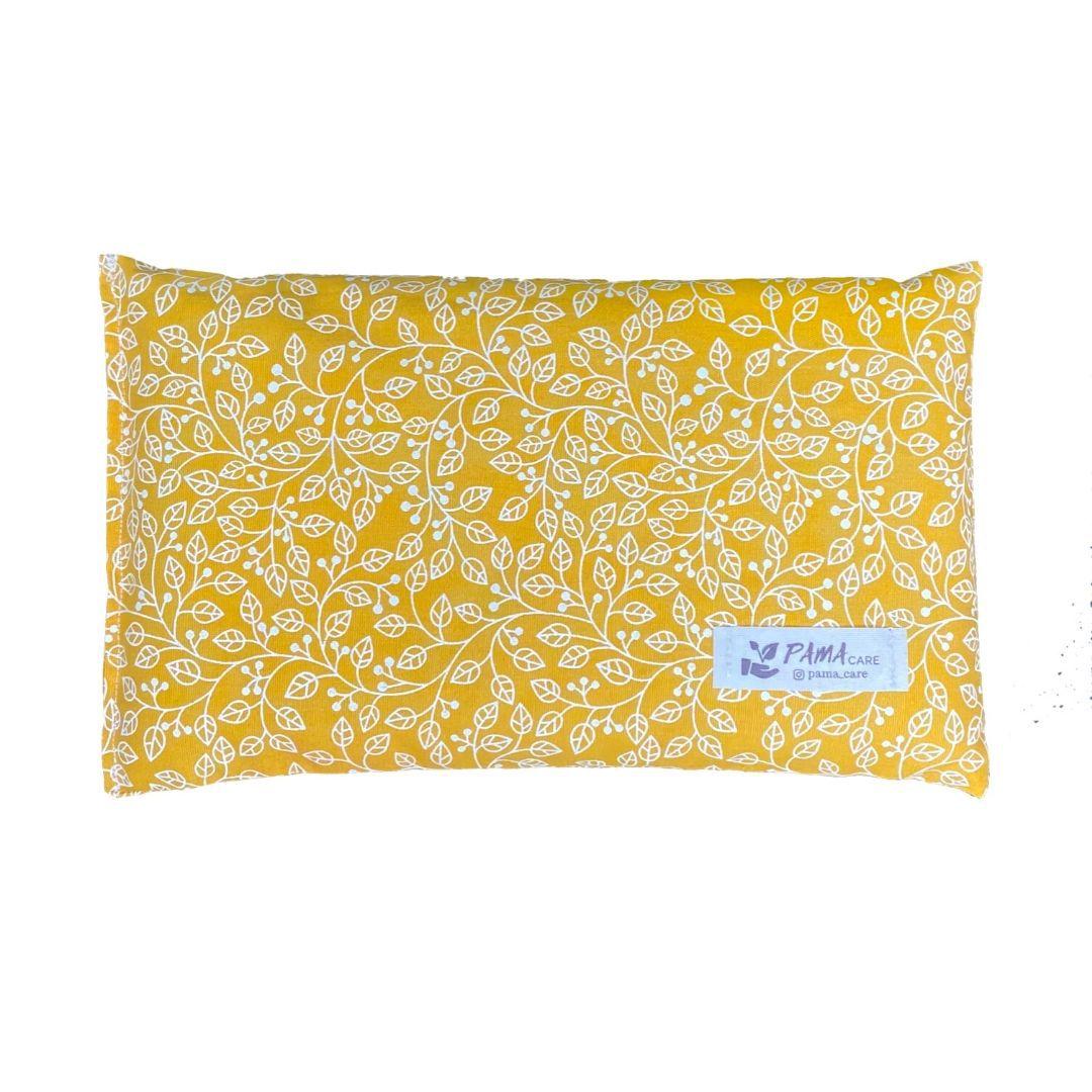 Almofada Térmica de Sementes e Ervas - Essencial Amarela