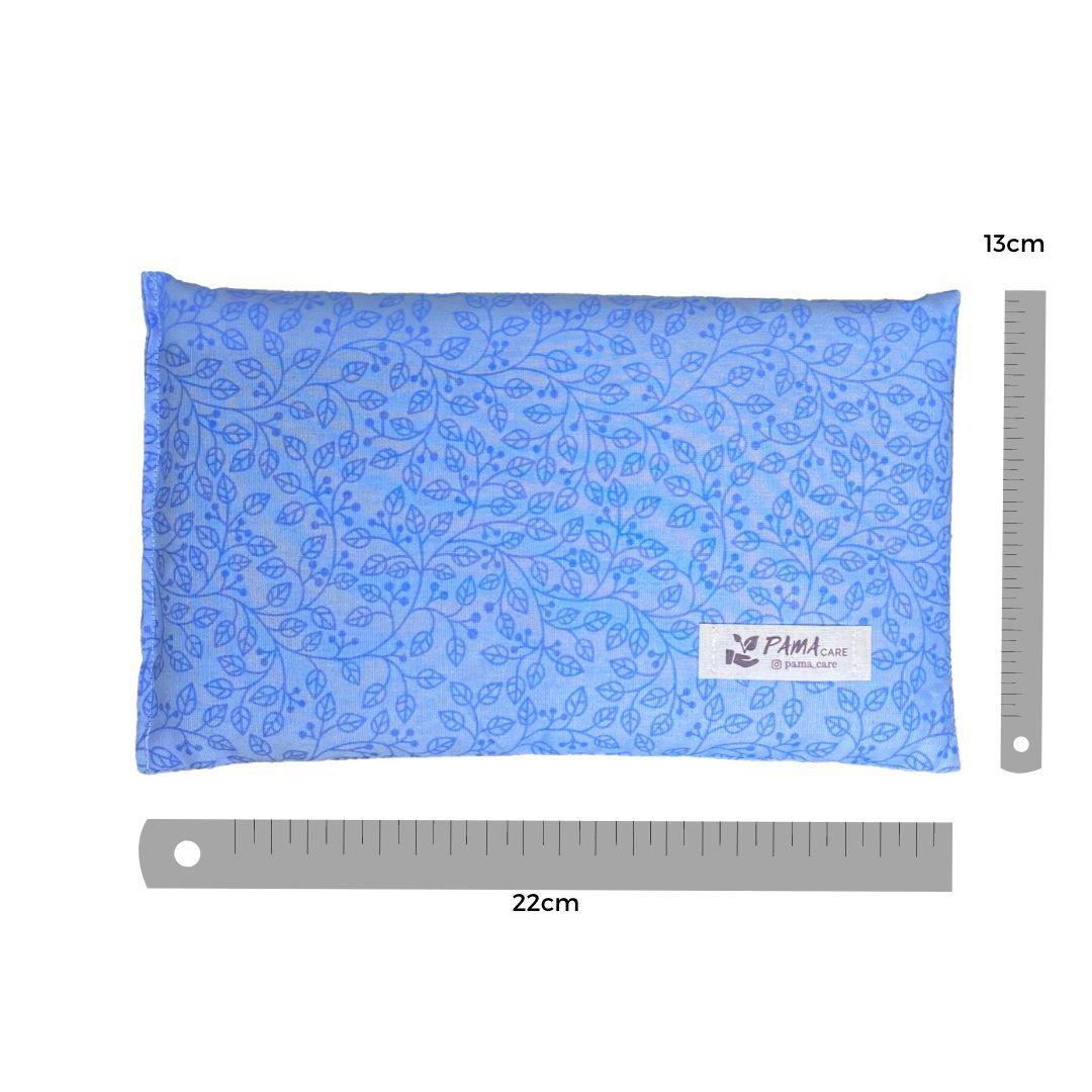 Almofada Térmica de Sementes e Ervas - Essencial Azul