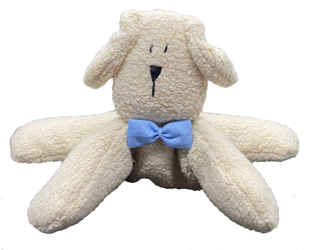 Almofada Térmica de Sementes e Ervas - RN Cachorro gravata azul