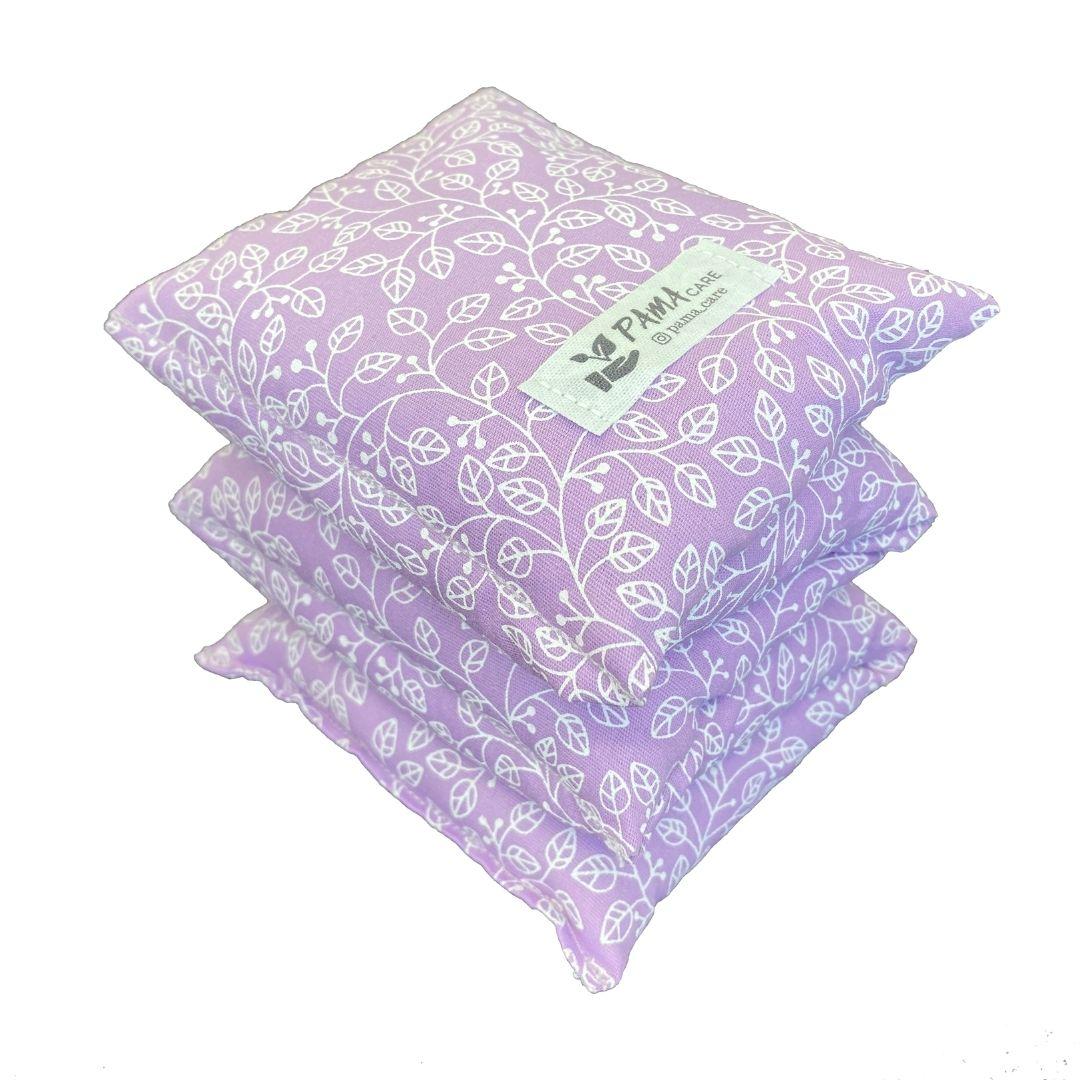 Almofada Térmica de Sementes e Ervas - Coluna  Lilás