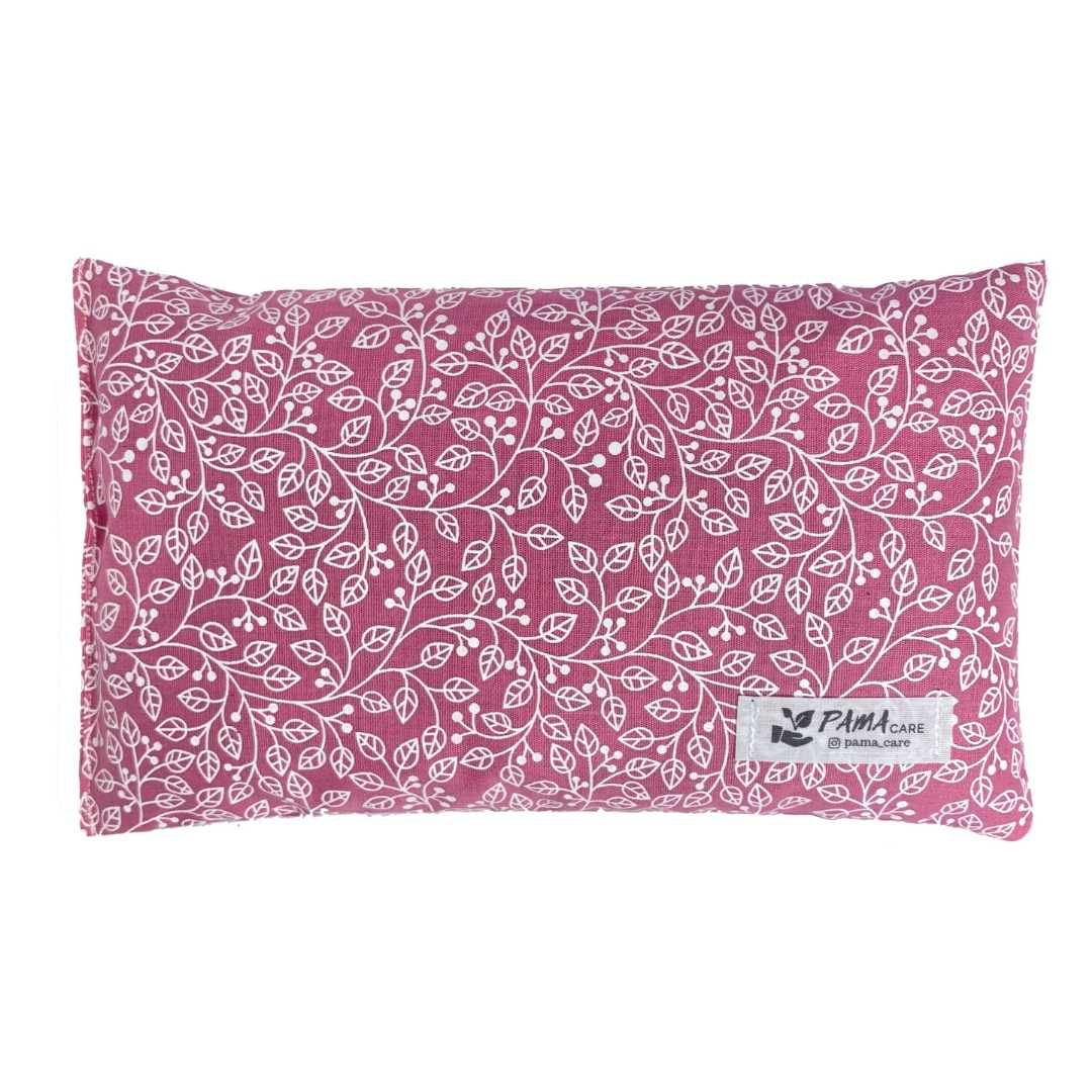 Almofada Térmica de Sementes e Ervas - Essencial Rosa Chiclete