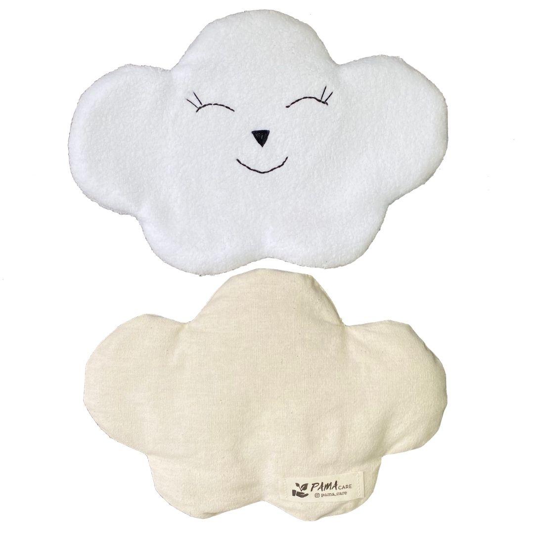 Almofada Térmica de Sementes e Ervas - Kids Nuvem