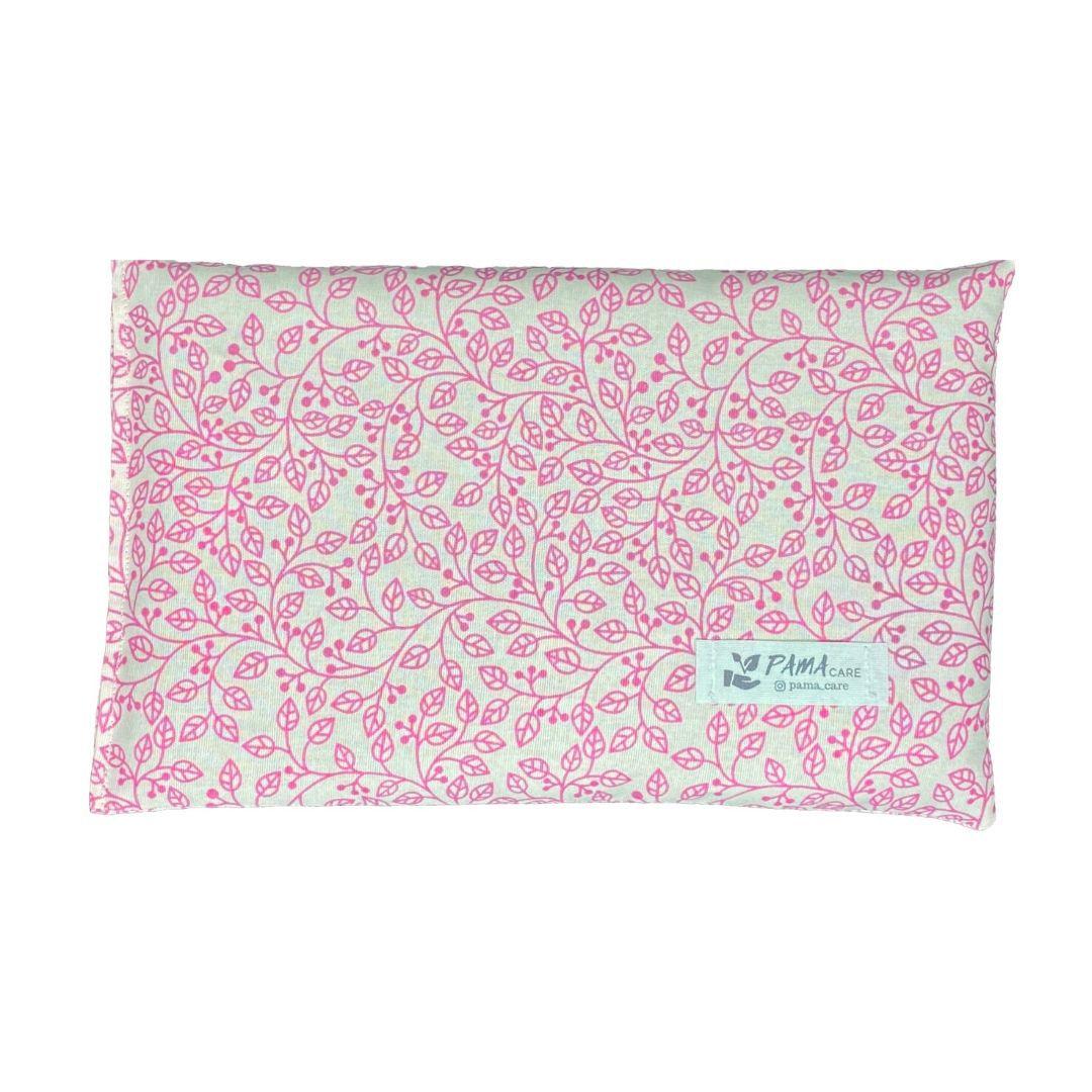 Almofada Térmica de Sementes e Ervas - Essencial Rosa